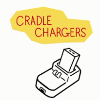 cradle chargers
