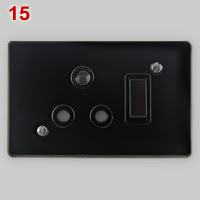 SANS 164-4 dedicated socket, black variant