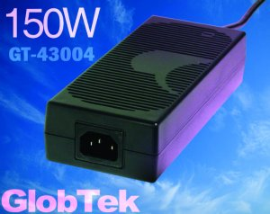 Taiwan approval is available for GT-43004P15024-T3, first of GlobTek's 150W desktop series family!