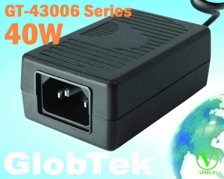 Suitable for use in general and ITE applications, the GT-43006 Series 40W desktop power supplies from GlobTek, a world-class power solutions provider, can deliver 12V at 3.3A with no minimum load required...