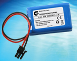 Li-Ion Prismatic Battery Pack from GlobTek, a 3.7 VOLTS @ 2200 mAh  BL2200F6034501S2PPML Now Features UL 1642 Cell Approval and a CE Mark which complies with 2004/108/EC Electromagnetic compatibility, including EN61000-6-1:2007, EN61000-6-3:2007!