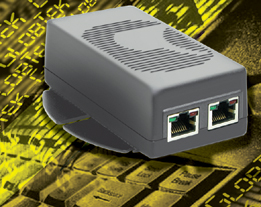 Power over Ethernet PoE Active Injector 48V