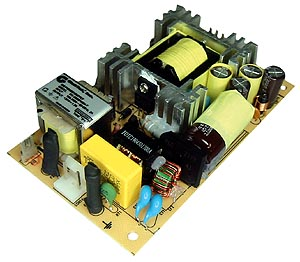 Power Supplies Switching Open-Frame (3x5) 65 Watt Single-Output w/PFC Module Series