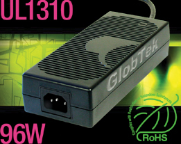 Power Supply for Commercial, Industrial and Home Use Applications   GT-9100P-9624, UL, cUL 1310 Listed