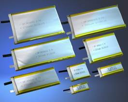 UL1642 Approved Li-Ion (Lithium Ion) Cells