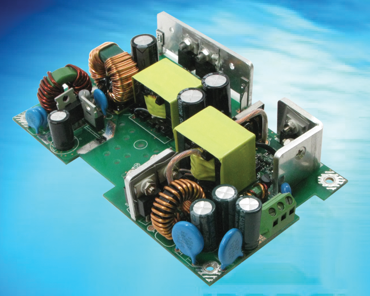 Very Wide Input Range 1:6 DC/DC Converter provides 60W (Watts) of DC output from an input voltage of 50-150VDC, an ideal solution for automotive and train/railway applications, Model GTD93035H6013.2-F(R)