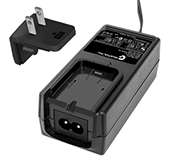 GTM91128LIXCEL, ITE / Medical Power Supply, Wall Plug-in+Desktop Combination, Li-Ion Battery Charger, , Input Rating: 100-240V~, 50-60 Hz, IEC 60320/C8 AC Inlet connector, Output Rating: 12.6 Watts, Power rating with convection cooling (W) , 3.2-12.6V in 0.1V increments, Approvals: CB 60950; ETL; EAC; SIQ 61558; SIQ; SIQ; SIQ; GS; S-Mark 60950; cRUus; cRUus; S-Mark IEC/EN 60601-1; CE; RoHS; China RoHS; WEEE; PSE; Ukraine; Double Insulation; ETL; CB 60335; Book 60601; VCCI; IP54;