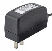 GT-86180-18VV-W2C, ITE Power Supply, Wall Plug-in, Regulated Switchmode AC-DC Power Supply AC Adaptor, , Input Rating: 100-240V~, 50-60 Hz, NEMA 1-15P, North America Blades, Class II 2 Conductors, Output Rating: 18 Watts, Power rating with convection cooling (W) , 9-14V in 0.1V increments, Approvals: EAC;